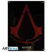 Targa Metallica Assassin s Creed - Crest
