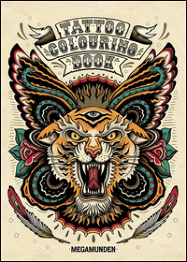 Tattoo colouring book - Megamunden |
