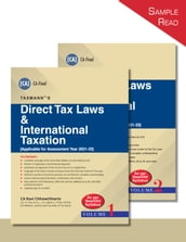 Taxmann s Direct Tax Laws & International Taxation (Set of 2 Vols.)