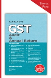 Taxmann s GST Audit & Annual Return