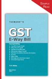 Taxmann s GST E-Way Bill