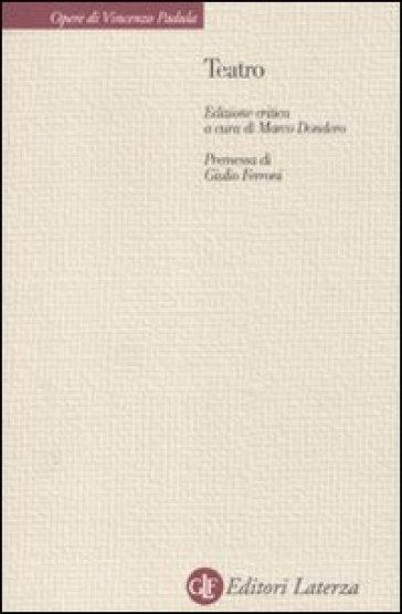 Teatro - Vincenzo Padula |