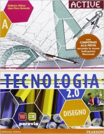 Tecnologia 2.0. Con CompetenzeLIM. Per la Scuola media. Con CD-ROM. Con espansione online. Con libro