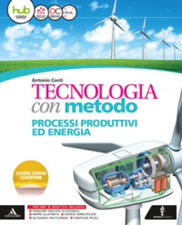 Tecnologia con metodo. Quaderno-Disegno. Per la Scuola media. Con e-book. Con espansione online - Antonio Conti |