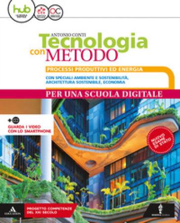 Tecnologia con metodo compatto. Per la Scuola media. Con e-book. Con espansione online. Con 3 libri: Disegno-Coding-tavole disegno - Antonio Conti  