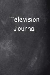 Televsion Journal Chalkboard Design