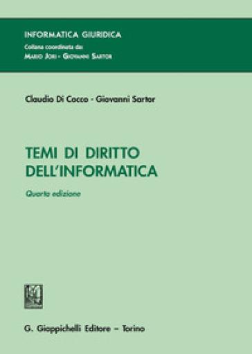 Temi di diritto dell'informatica - Claudio Di Cocco | Thecosgala.com