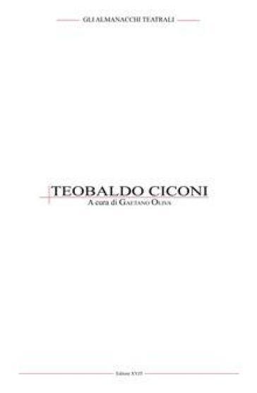 Teobaldo Ciconi - G. Oliva |