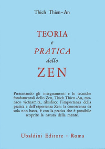 Teoria e pratica dello zen - Tien An Thich   Kritjur.org