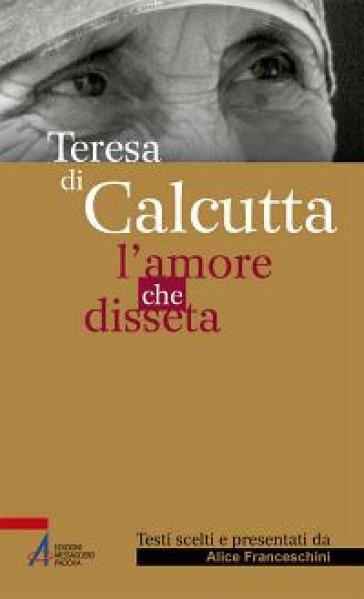 Teresa di Calcutta. L'amore che disseta - A. Franceschini   Kritjur.org
