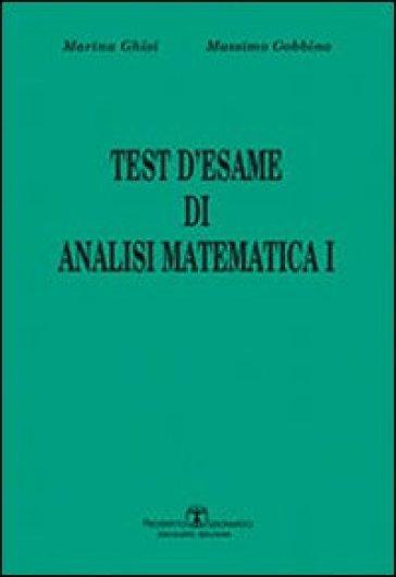 Test d'esame di analisi di matematica I. 1. - Massimo Gobbino | Ericsfund.org
