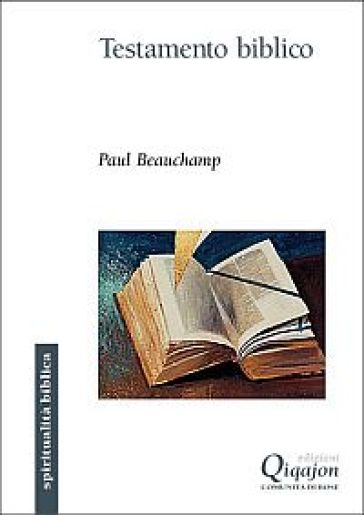 Testamento biblico - Paul Beauchamp |