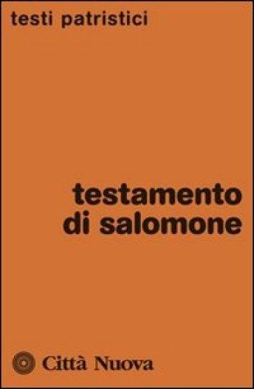 Testamento di Salomone - A. Cosentino |