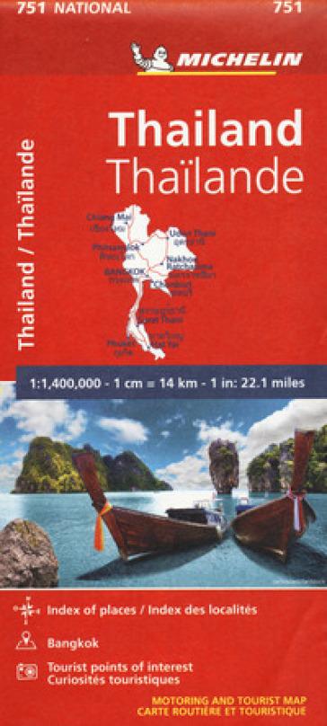 Thailand- Thailand. 1:1.400.000
