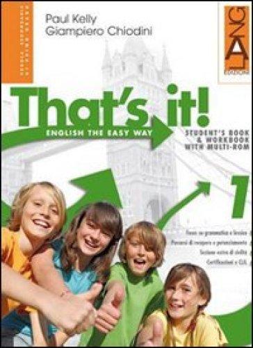 That's it! Ediz. leggera. Per la Scuola media. Con espansione online. 3. - Paul Kelly pdf epub