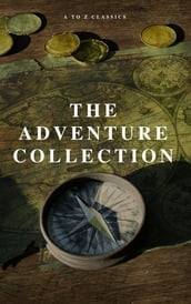 The Adventure Collection: Treasure Island, The Jungle Book, Gulliver