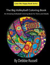The Big Volleyball Coloring Book