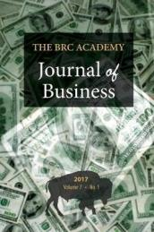 The Brc Academy Journal of Business