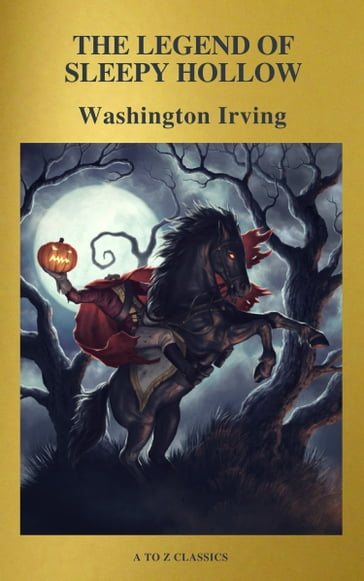 The Legend of Sleepy Hollow ( Active TOC, Free Audiobook) (A to Z Classics)