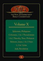 The New Interpreter s Bible Commentary Volume X