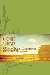 The One Year God s Great Blessings Devotional