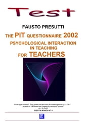 The PIT Questionnarie 2002 for Teachers