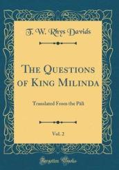 The Questions of King Milinda, Vol. 2