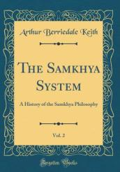 The Samkhya System, Vol. 2