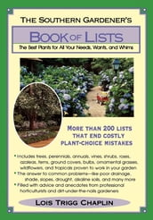 The Southern Gardener s Book Of Lists
