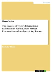 The Success of Tesco s International Expansion in South Korean Market. Examination and Analysis of Key Factors