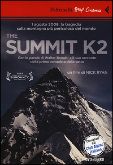 The Summit K2. DVD. Con libro