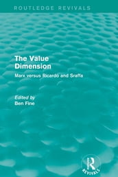 The Value Dimension (Routledge Revivals)
