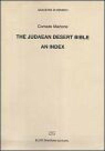The judaean desert Bible. An index - Corrado Martone |