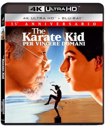 The karate kid - Per vincere domani (2 Blu-Ray)(4K UltraHD+Blu-ray) (35° anniversario)