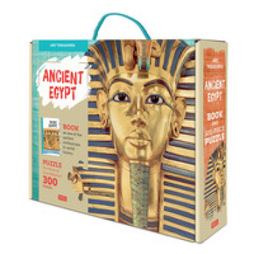 The mask of Tutankhamun. Ancient Egypt. Art treasures. Ediz. a colori. Con puzzle - Irena Trevisan  