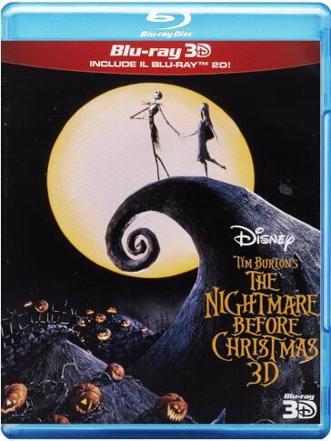 The nightmare before Christmas (2 Blu-Ray)(2D+3D)