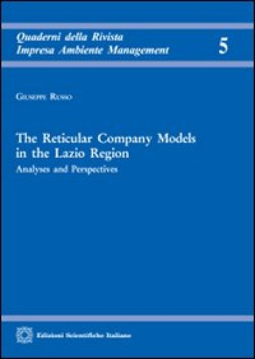 The reticular company models in the Lazio region