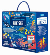 The sea. Travel, learn, explore. Ediz. a colori. Con puzzle