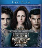 The twilight saga (3 Blu-Ray)(extended editions)