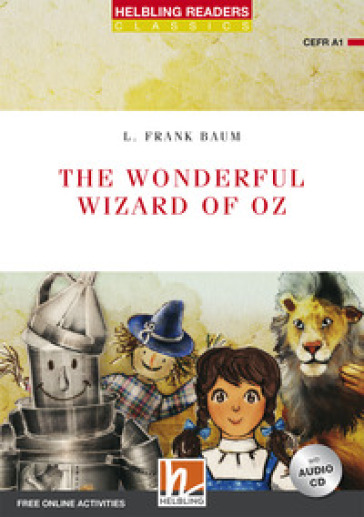 The wonderful wizard of Oz. Readers red series. Con CD-Audio - Lyman Frank Baum |