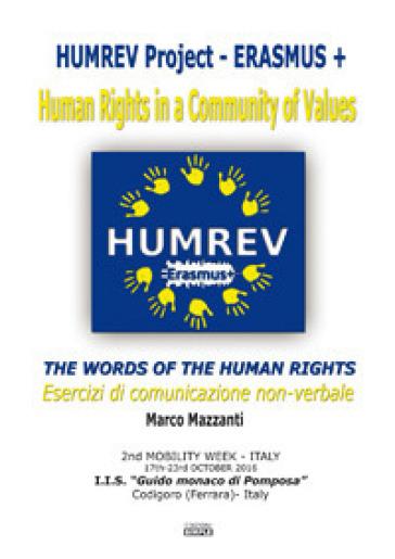 The words of the human rights - Esercizi di comunicazione non-verbale - Marco Mazzanti  