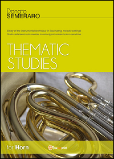 Thematic studies for horn - Donato Semeraro   Ericsfund.org