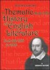 Thematic study of the history of english literature. From 500 A.D. to 2000 (A)