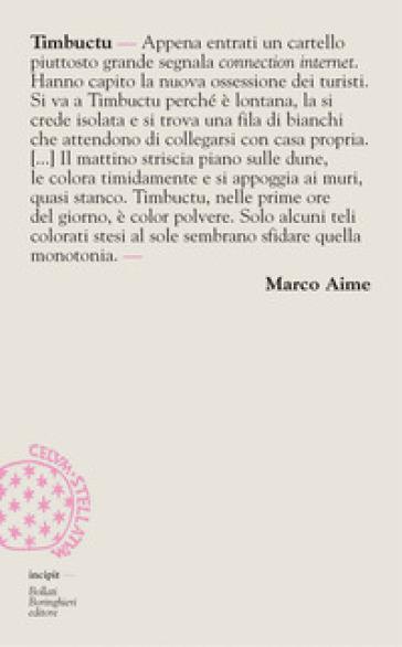 Timbuctu - Marco Aime |
