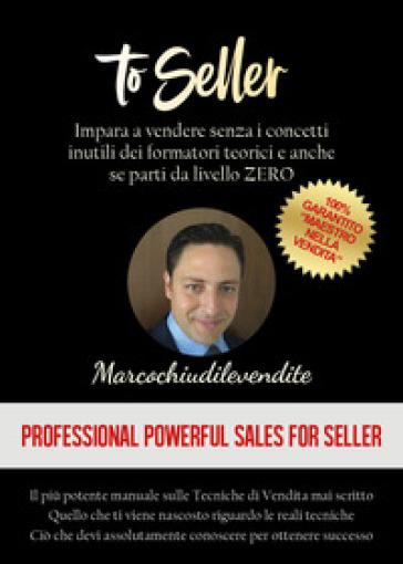 To seller - Marco Bellia pdf epub