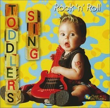 Toddlers sing rock 'n' ro