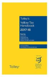 Tolley s Yellow Tax Handbook 2017-18