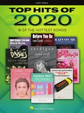 Top Hits of 2020 Easy Piano Songbook