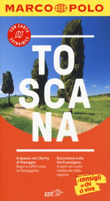 Toscana. Con atlante stradale - Sabine Oberpriller |