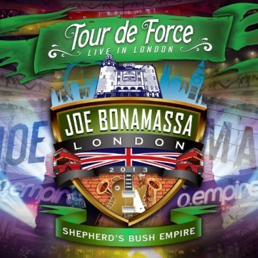 Tour de force-shepherd's bush empire-cd